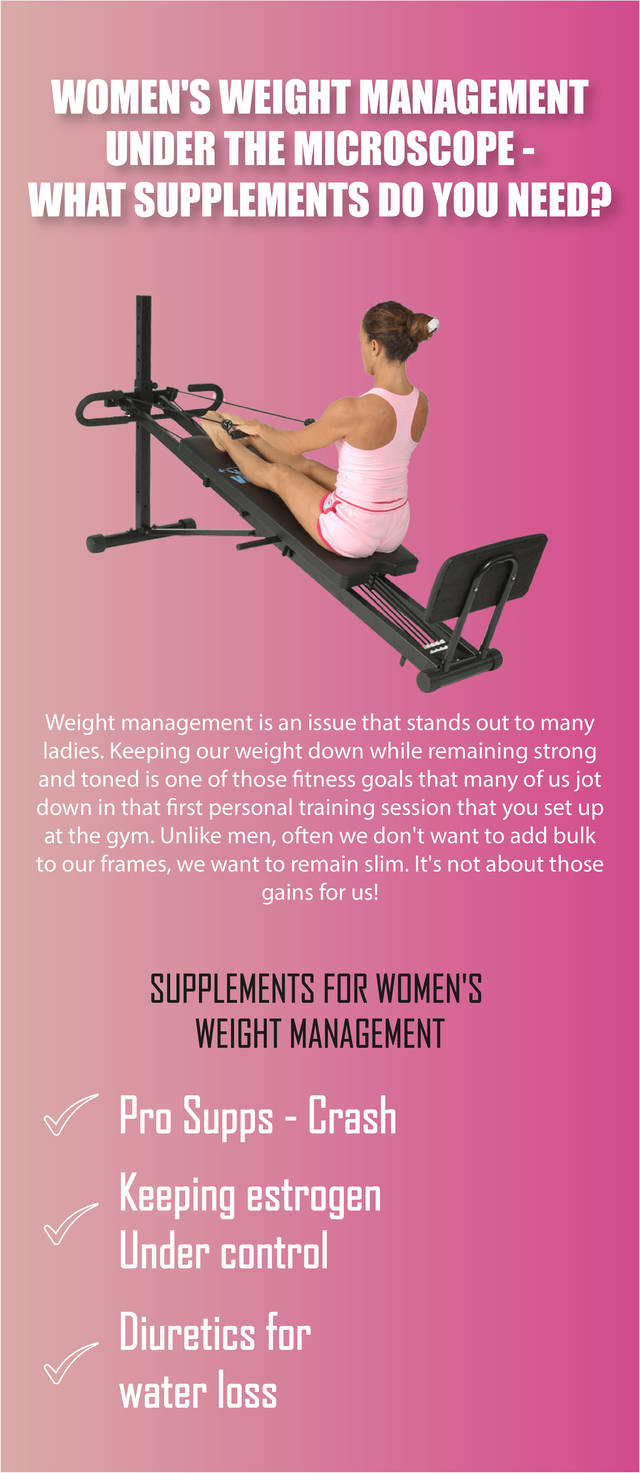 Women's weight management what supplements do you need