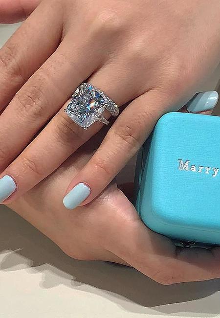 Ring trends solitaire diamond wedding set white gold tiffanyco