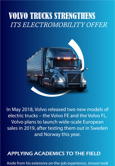 Volvo trucks strengthens its electromobility offer