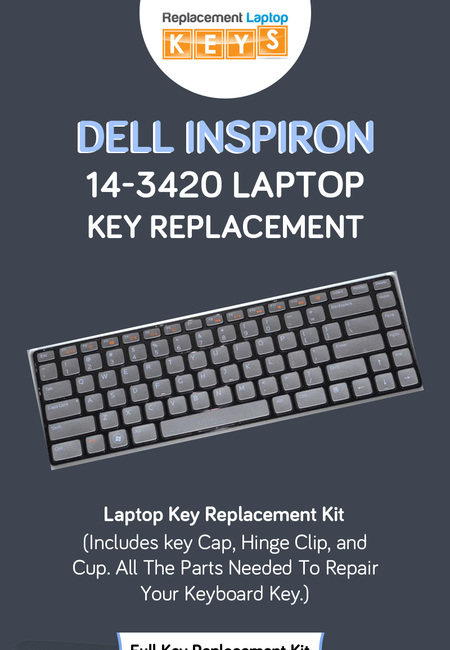 Shop dell inspiron 14 3420 laptop replacement keys from replacement laptop keys
