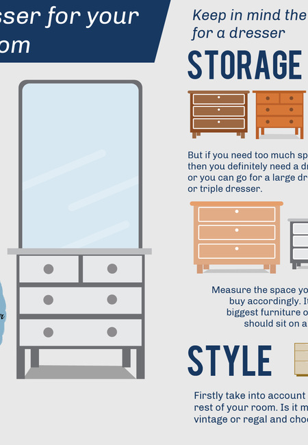 A dreamy dresser for your dreamy bedroom