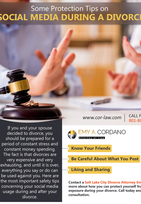 Some protection tips on social media during a divorce