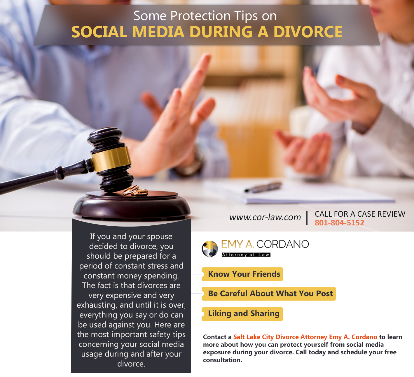 Some Protection Tips on Social Media During a Divorce ?