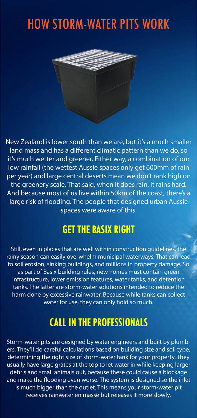 How stormwater pits work