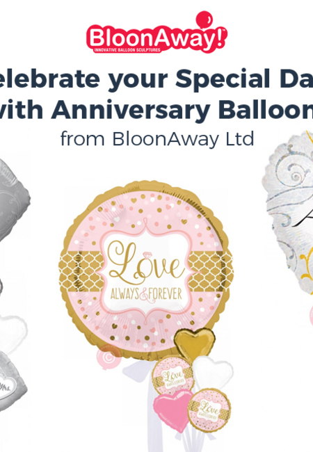 Celebrate your special date with anniversary balloons from bloonaway ltd