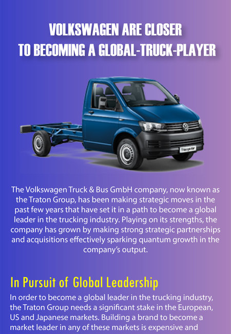 Volkswagen are closer to becoming a global truck player 05