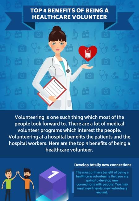 Top 4 benefits of being a healthcare volunteer