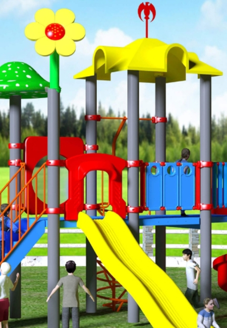 Moduplay commercial playground