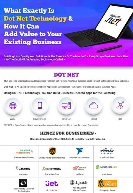 Dot net infographic