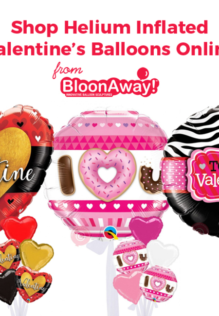 Shop helium inflated valentine%e2%80%99s balloons online from bloonaway