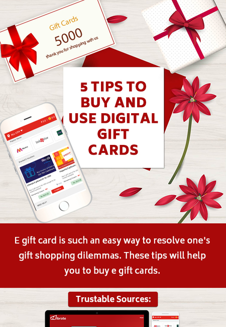 5 tips to buy and use digital gift cards