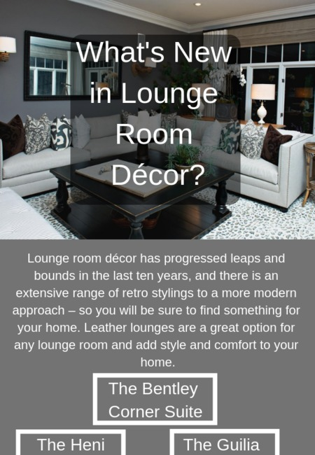 What's new in lounge room d%c3%a9cor