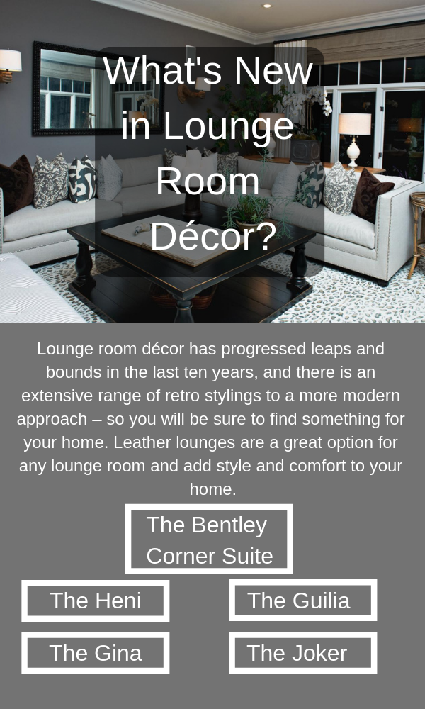 Decor Your Room Styling to A More Modern Leather Lounge
