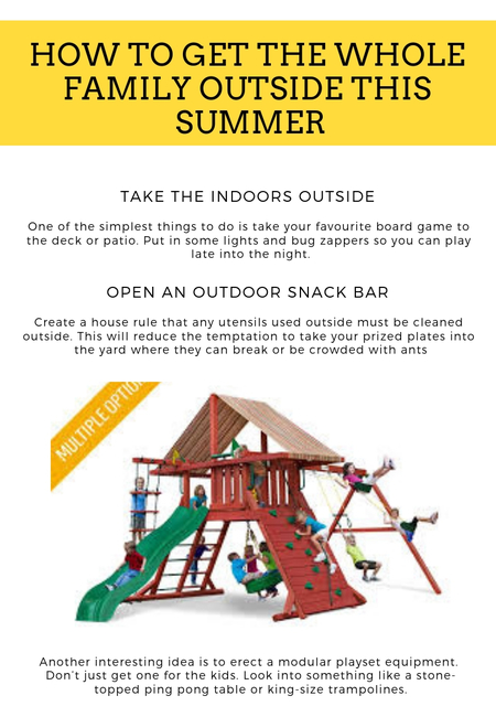 How to get the whole family outside this summer