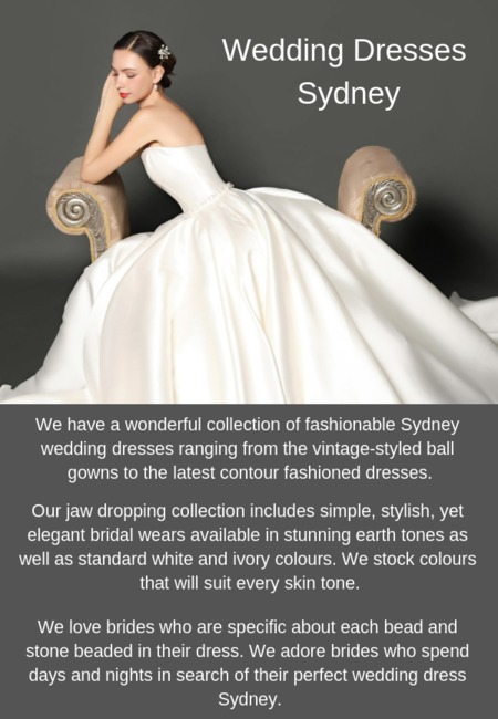 Wedding dresses sydney