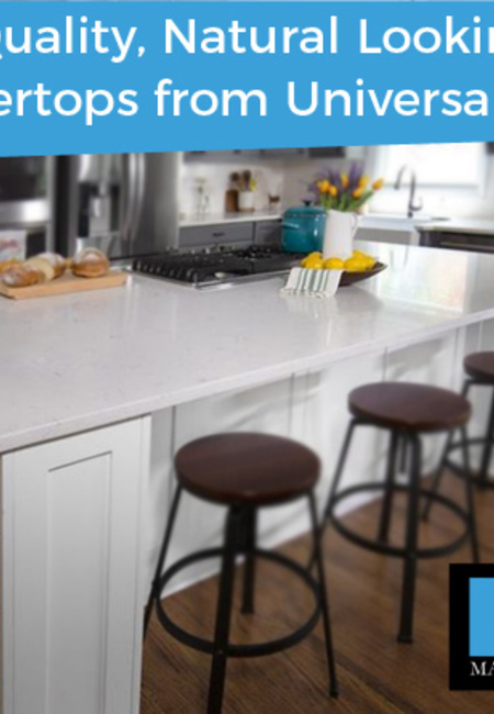 Get top quality  natural looking granite countertops from universal stone
