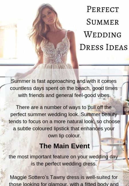 Perfect summer wedding dress ideas