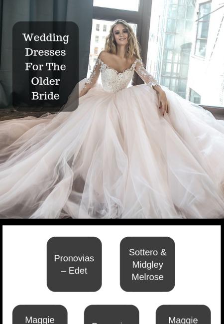 Wedding dresses sydney for the older bride