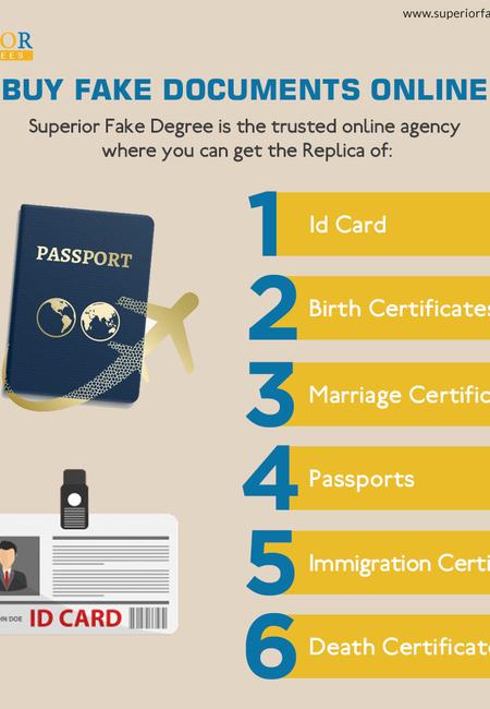 Buy fake documents online