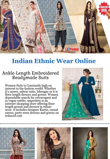 Indian ethnic wear online