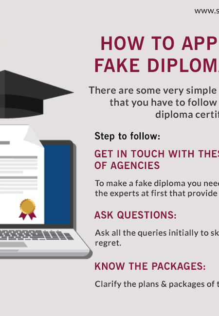 How to apply for a fake diploma online