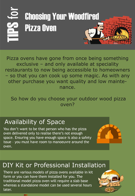 Tips for choosing your woodfired pizza oven