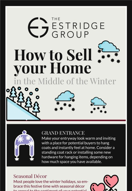 How to sell your home in the middle of the winter