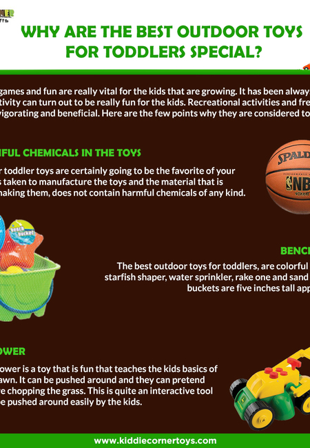 Why are the best outdoor toys for toddlers special