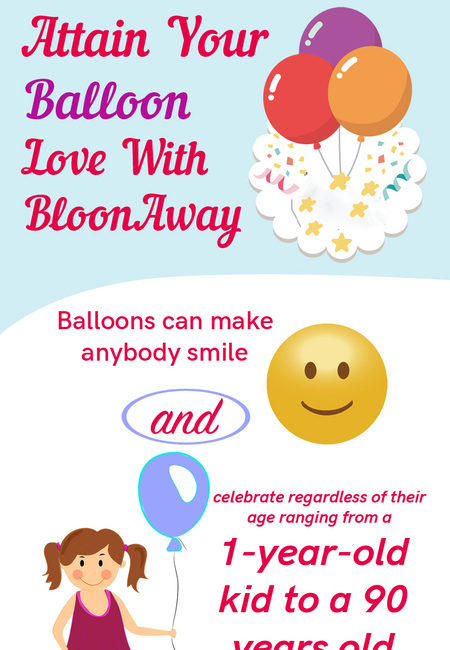 Attain your balloon love with bloonaway