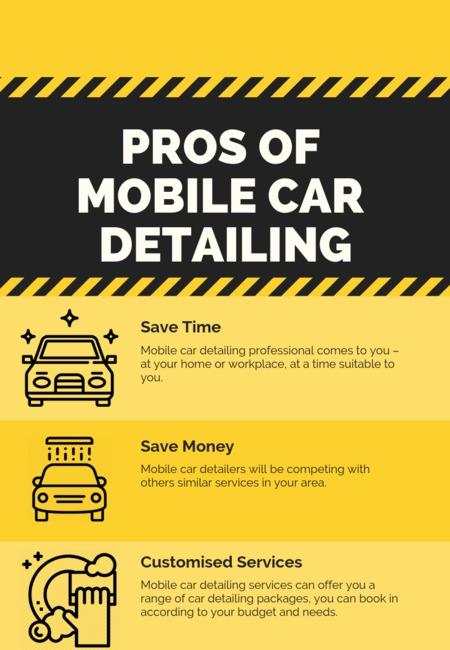 Pros of mobile car detailing