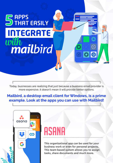 5 apps that easily integrate with mailbird 1