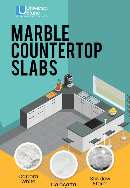 Shop a wide variety of marble countertops in charlotte  nc from universal stone