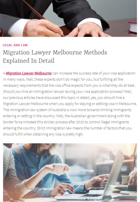 Migration lawyer melbourne