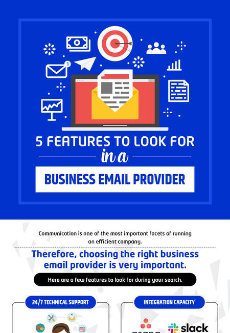 5 features to look for in a business email provider