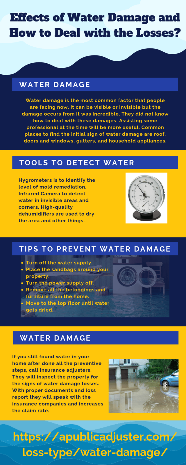 Effects of water damage and how to deal with the losses (1)