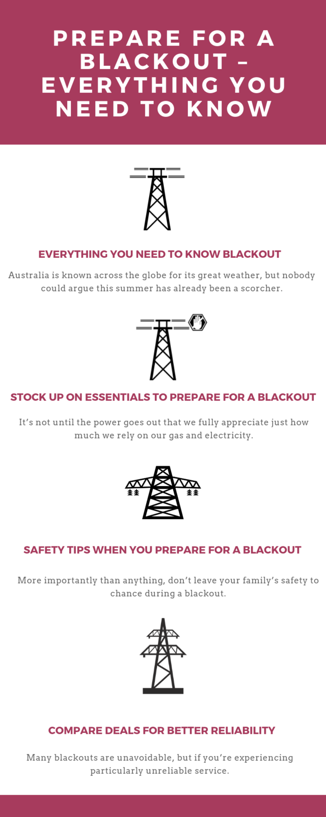Prepare for a blackout %e2%80%93 everything you need to know