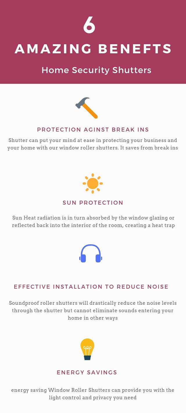 6 amazing benefits home security shutters
