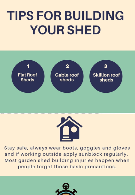 Tips for building your shed