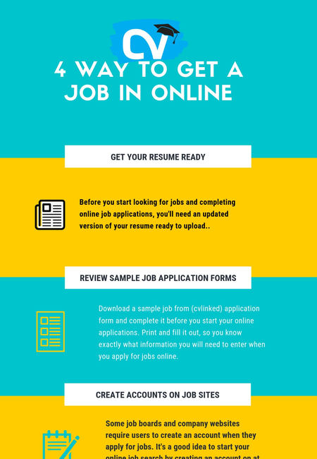 4 way to get a job in online