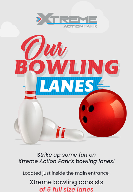 Feel the real experience of bowling with xtreme action park