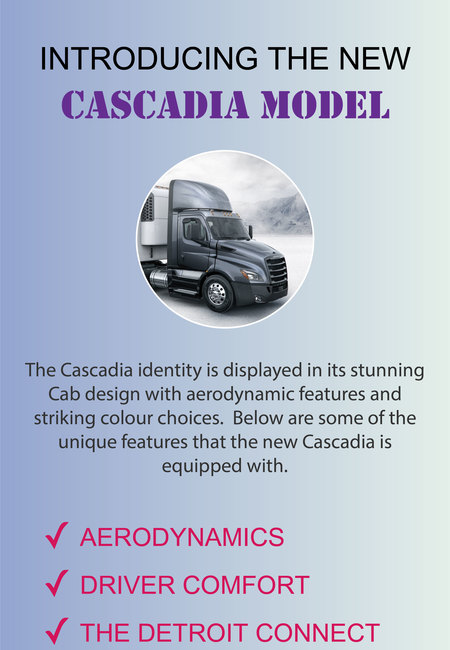 Introducing the new cascadia model