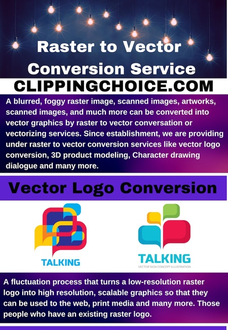 Raster to vector conversion