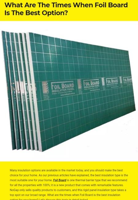 Foil board