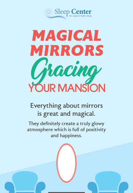 Magical mirrors gracing your mansion