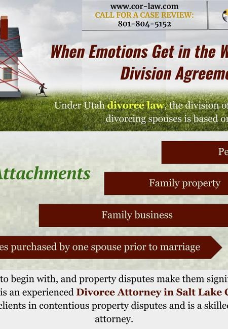When emotions get in the way of property division agreements (2)