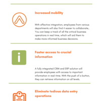 5 benefits of integrating crm with your erp software