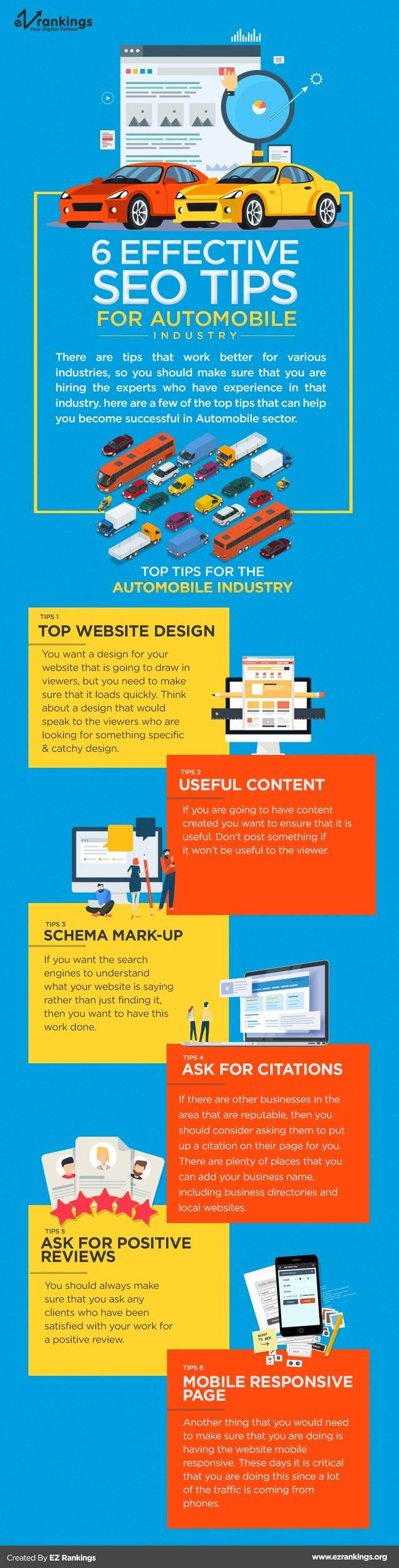 Effective seo tips for automobile industry