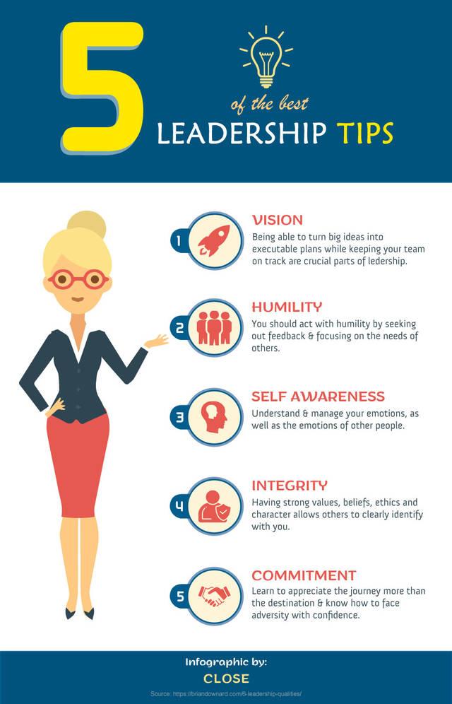 5 leadership tips