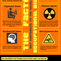 Occupational disease infographic by free safety training