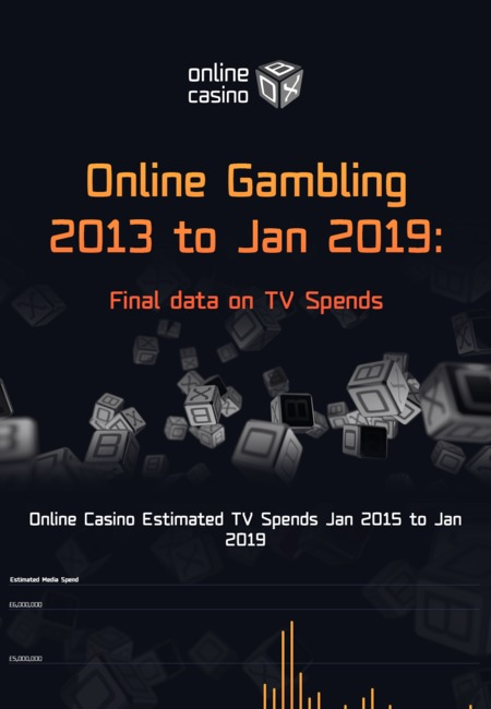 Online gambling 2013 to jan 2019 final data on tv spends